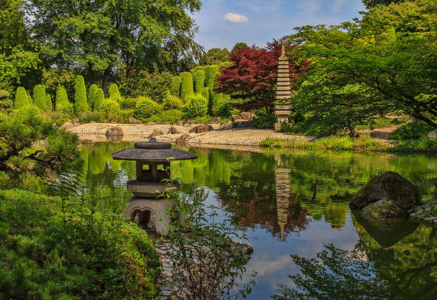 Hotel Zur Post Bonn-Beuel, Japanischer Garten