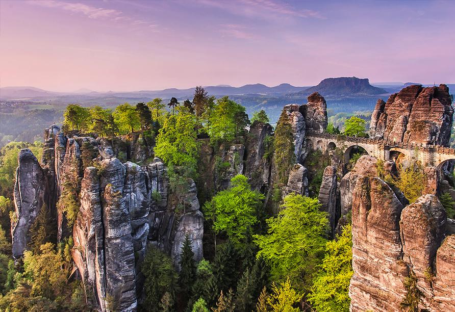 Autorundreise Ostdeutschland, Elbsandsteingebirge