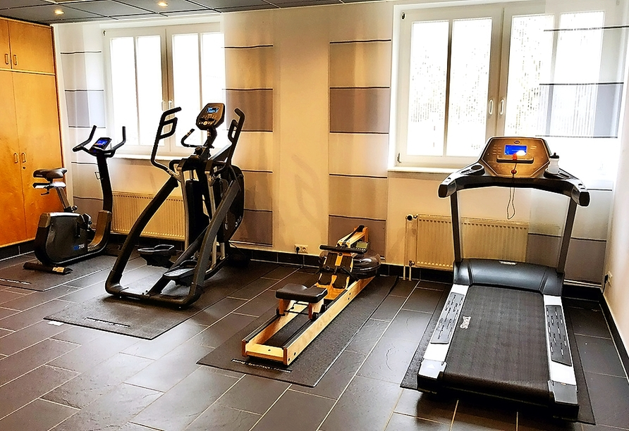 Autorundreise Ostdeutschland, Fitnessraum The Royal In Park Hotel Fasanerie Neustrelitz