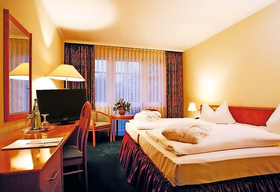 Autorundreise Ostdeutschland, Zimmerbeispiel The Royal In Park Hotel Fasanerie Neustrelitz
