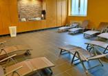 Autorundreise Ostdeutschland, Sauna The Royal In Park Hotel Fasanerie Neustrelitz