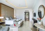 Beispiel eines Doppelzimmers im Constantinos the Great Beach Hotel