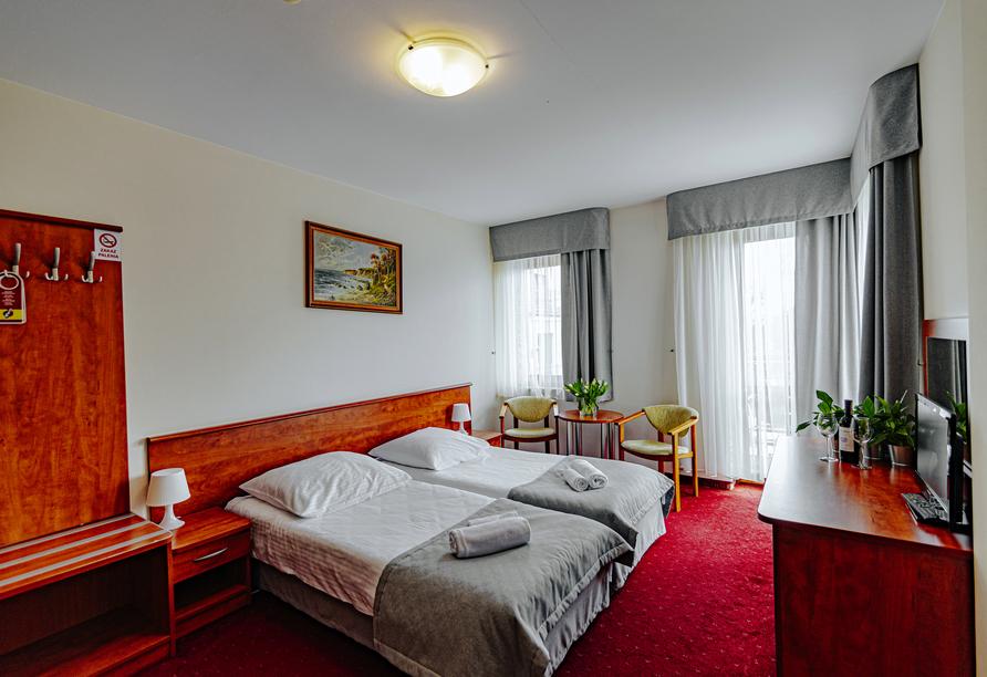 Hotel Panorama Spa, in Rewal, Außenansicht