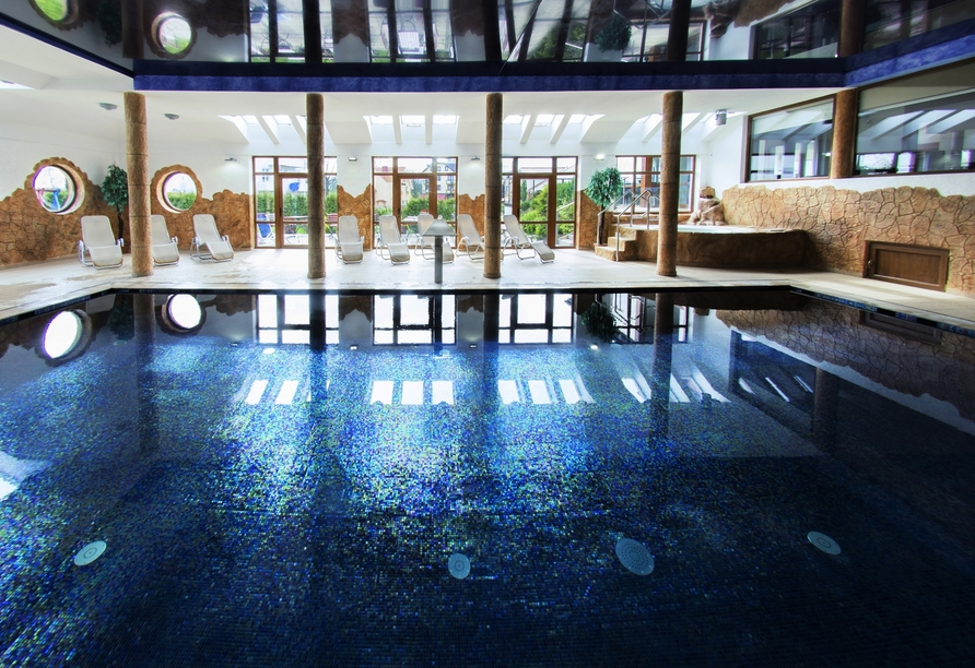 Hotel Panorama Spa, in Rewal, Hallenbad