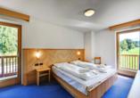 Hotel Bellamonte in Predazzo, Zimmerbeispiel