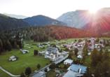 Hotel Bellamonte in Predazzo, Außenansicht