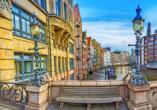 Hotel Moxy Hamburg City, Stadtansicht Hamburg