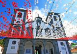 Während Ihres Ausflugs nach Monte besuchen Sie die Kirche Nossa Senhora do Monte.