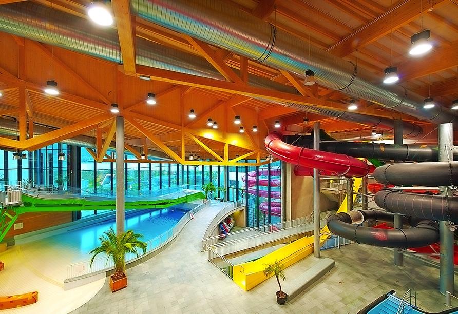 Das Aquabasilea bietet Spaß für Klein und Groß.