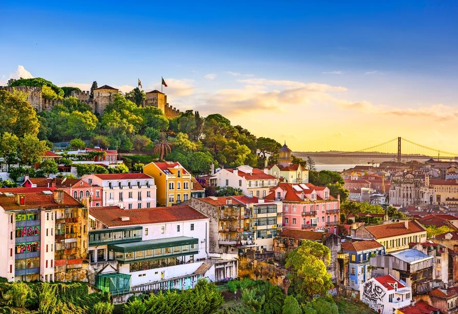 Freuen Sie sich auf eine unvergessliche Reise von Lissabon bis nach Madeira.