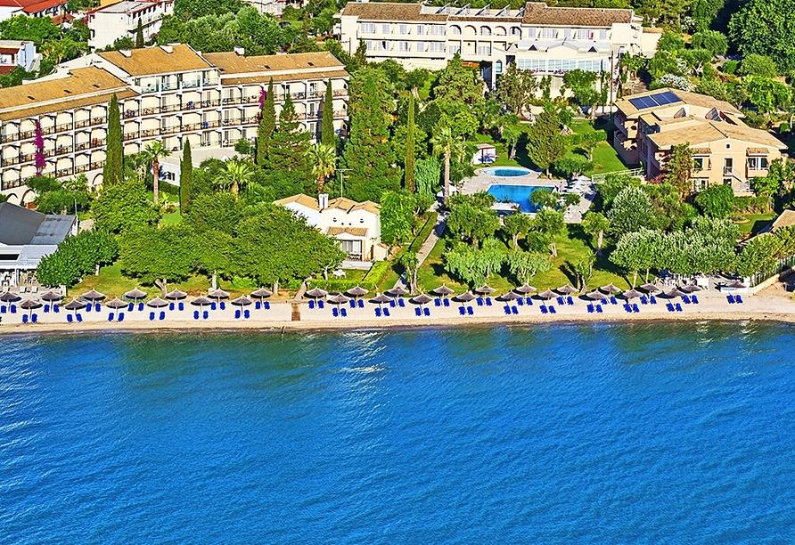 Ihr Hotel lockt mit einer wunderbaren Strandlage.