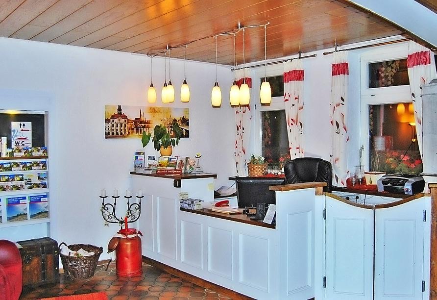 Hotel Neetzer Hof in Neetze in der Lüneburger Heide, Empfang