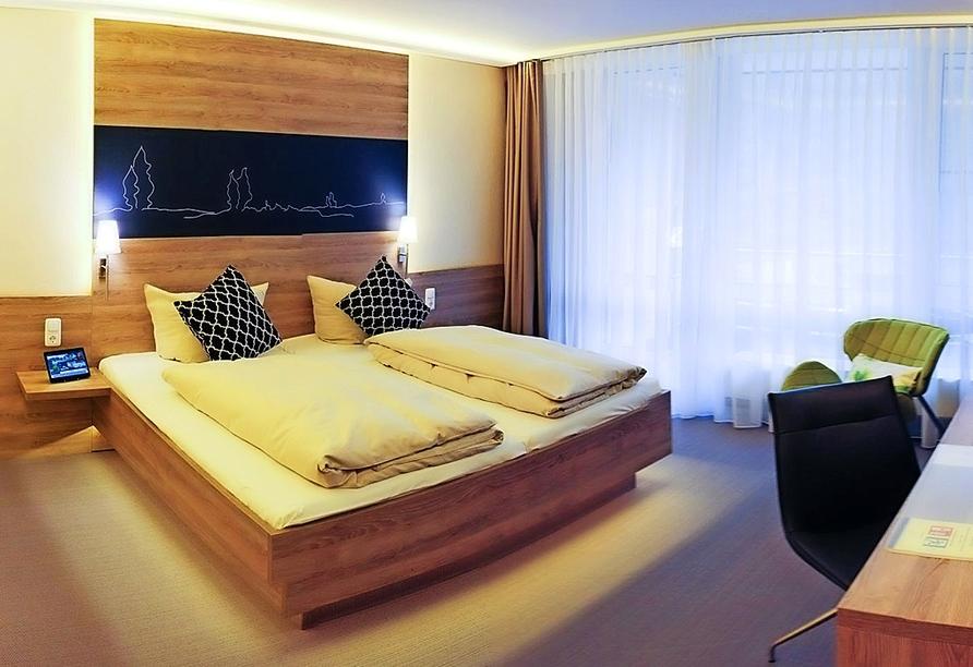 Beispiel eines Doppelzimmers im Hotel Park Soltau
