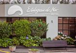 Hotel Estalagem do Mar in São Vicente, Eingang