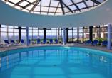 Hotel Estalagem do Mar in São Vicente, Hallenbad