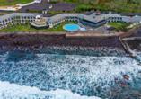 Hotel Estalagem do Mar in São Vicente, Hotel aus der Vogelperspektive