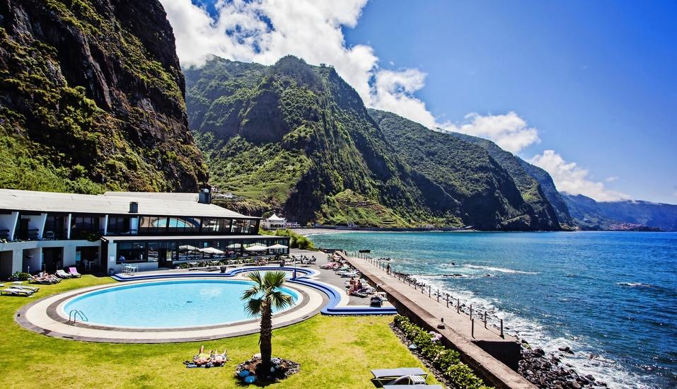 Hotel Estalagem do Mar in São Vicente, Außenbereich