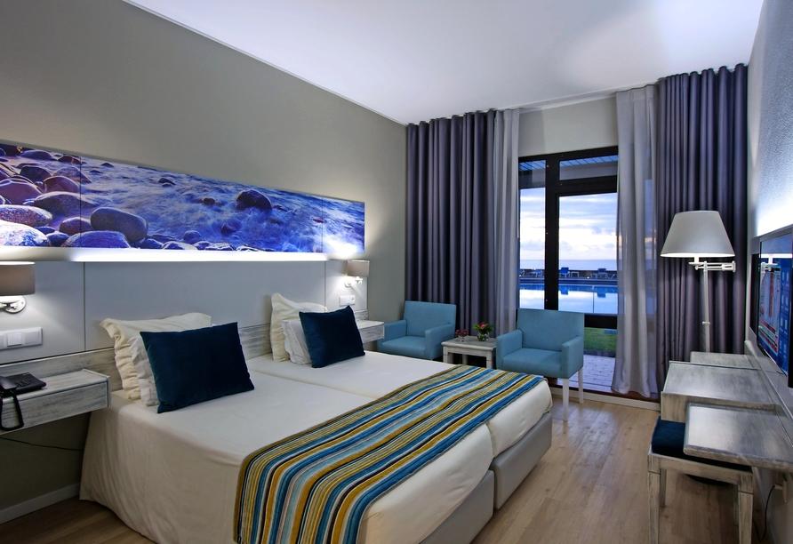 Hotel Estalagem do Mar in São Vicente, Beispiel Doppelzimmer Standard