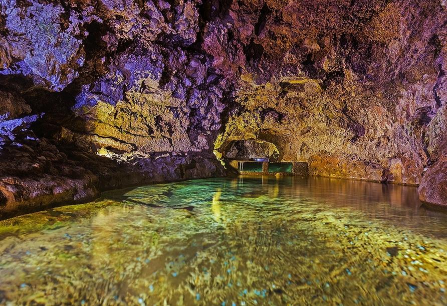 Der Ausflug zu den vulkanischen Höhlen von São Vicente ist ein ganz besonderes Erlebnis.