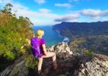 Entdecken Sie den grünen Norden Madeiras bei einer Wanderung.