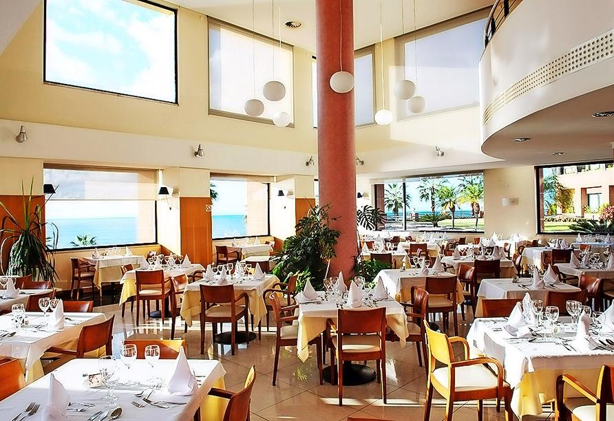 Leckere Speisen genießen Sie im Restaurant des Hotels.