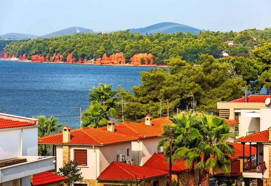 Lernen Sie Ihren schönen Urlaubsort Nikiti kennen.