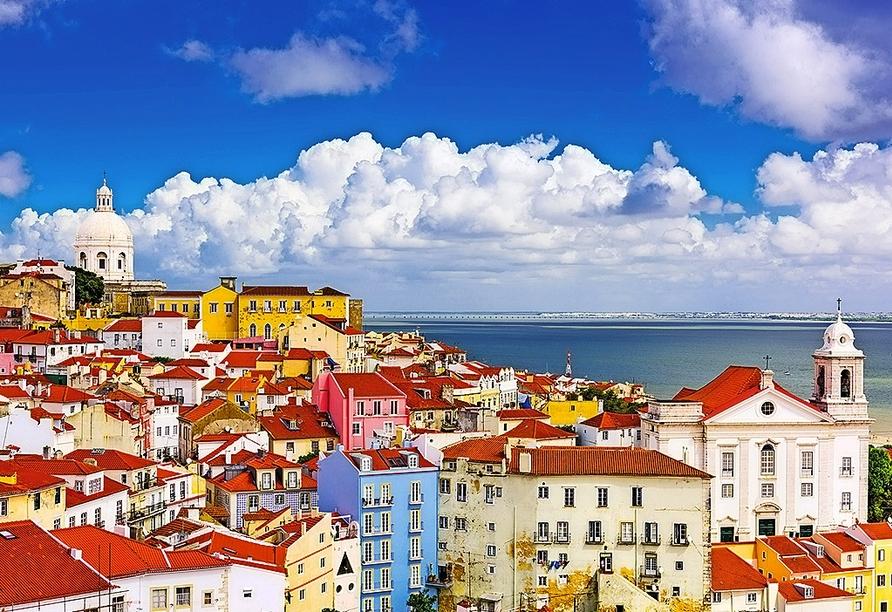 Hotel Mundial in Lissabon, Häuser von Alfama