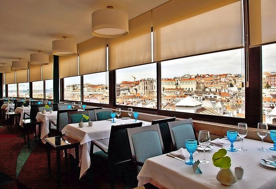 Hotel Mundial in Lissabon, Restaurant Varanda de Lisboa