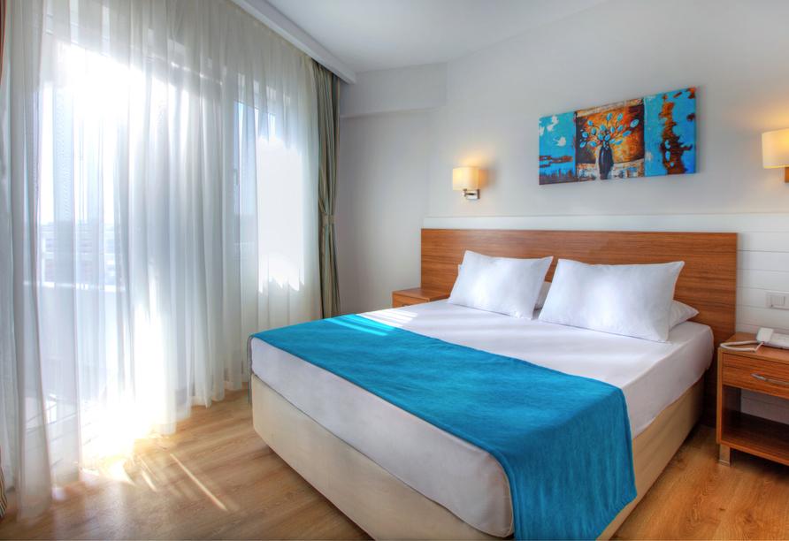 Städteerlebnis und Küstenregionen, Zimmerbeispiel Hotel Grand Park Lara