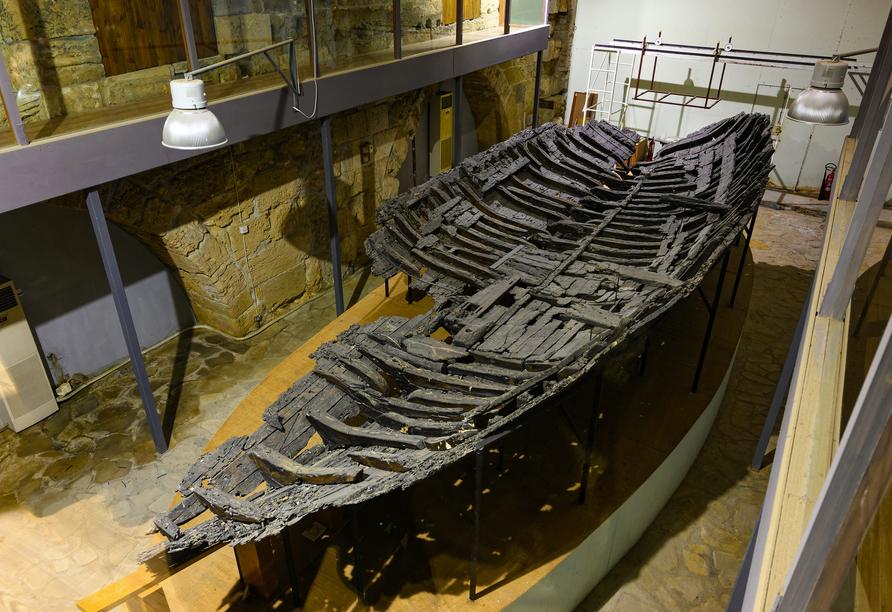 Nordzypern Rundereise, Schiffswrackmuseum