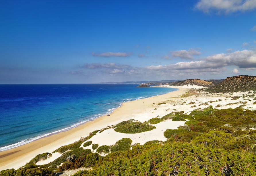 Nordzypern Rundereise, Karpas, Golden Beach