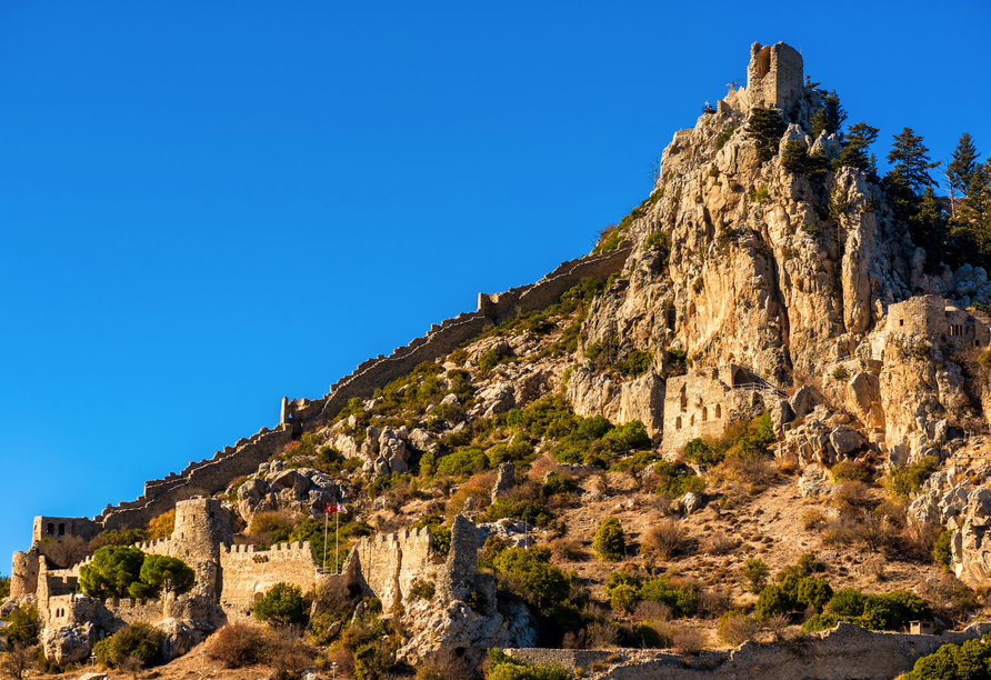 Nordzypern Rundereise, St. Hilarion Burg