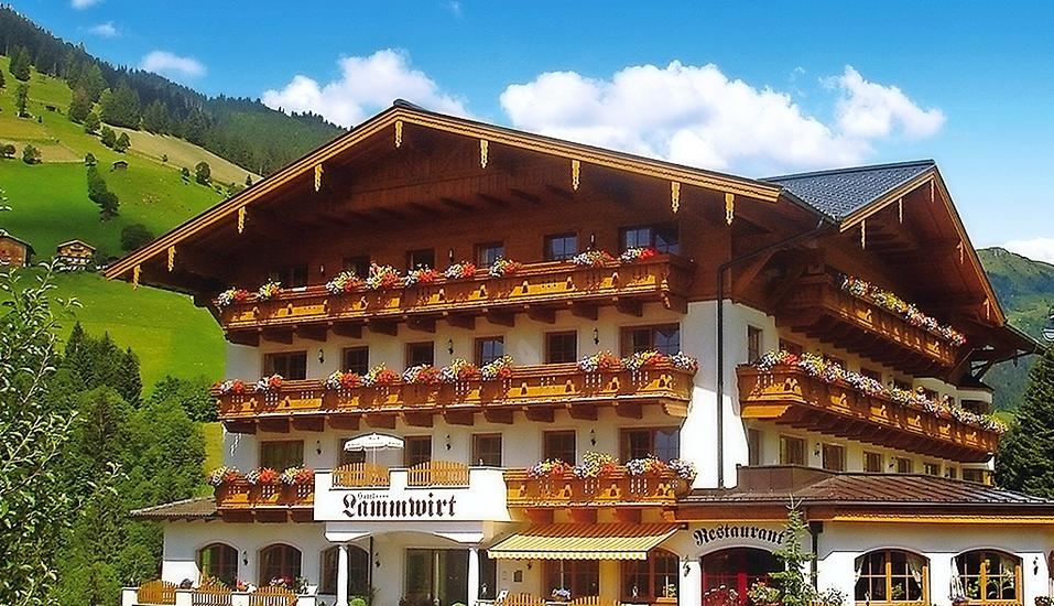 Hotel Lammwirt Jerzens Pitztal Tirol, Außenansicht