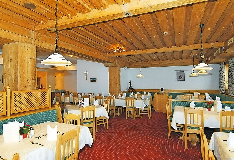 Hotel Lammwirt Jerzens Pitztal Tirol, Restaurant
