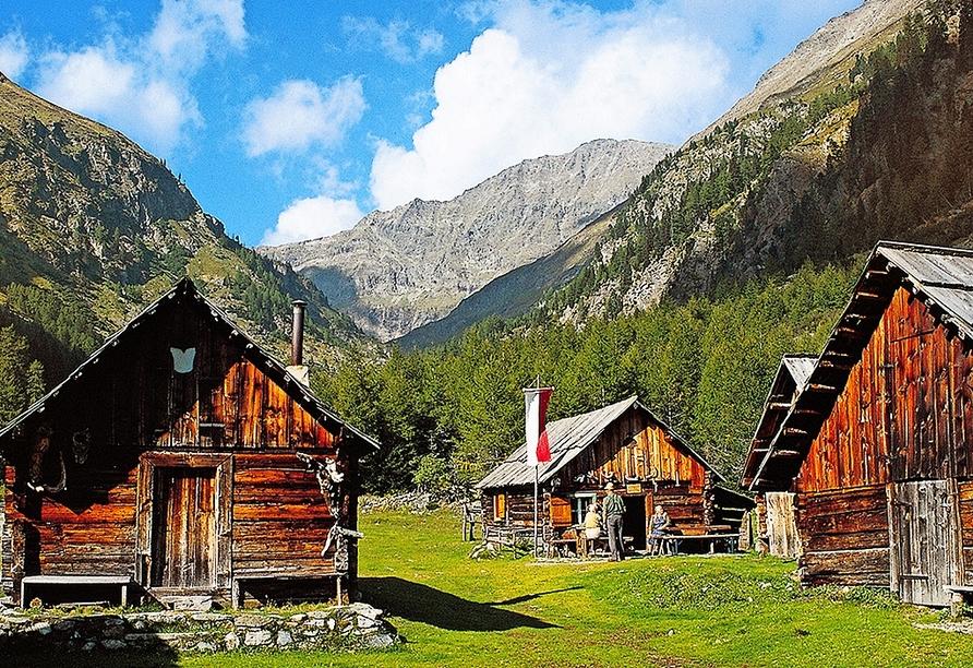 Hotel Lammwirt Jerzens Pitztal Tirol, Umgebung