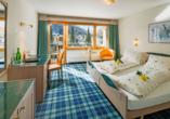 Hotel Kristall-Saphir in Saas-Almagell, Doppelzimmer Superior