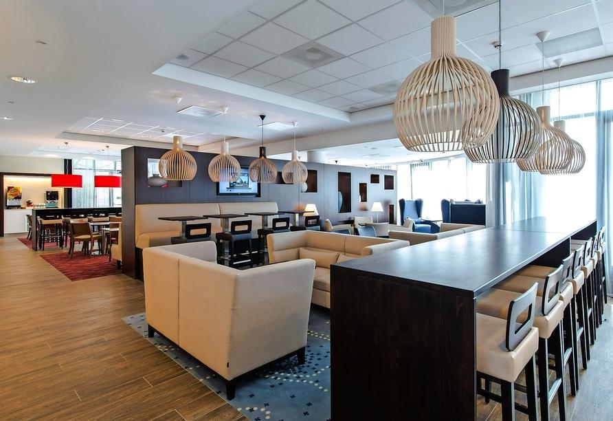 Restaurant im Hampton by Hilton Amsterdam Airport Schiphol