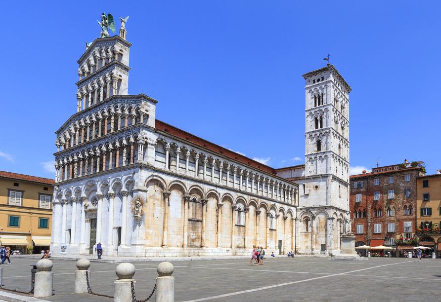 Toskana – Kultur und La Dolce Vita, Kirche San Michele, Lucca