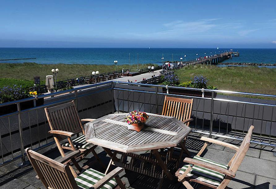 Ostseeurlaub in erster Reihe am Strand - Was gibt es Schöneres?