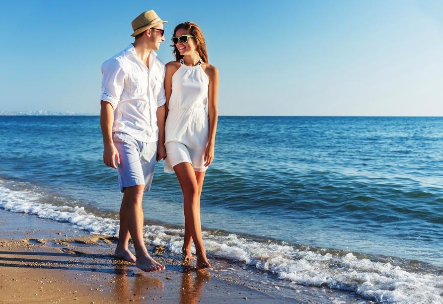 Hotel BQ Amfora Beach, Strandspaziergang