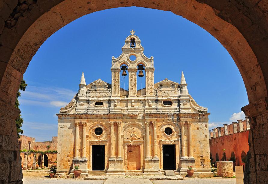 Mietwagen-Rundreise Kreta, Arkadi Kloster