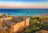 Mietwagen-Rundreise Kreta, Burg Frangokastello