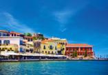 Mietwagen-Rundreise Kreta, Chania, venezianischer Hafen