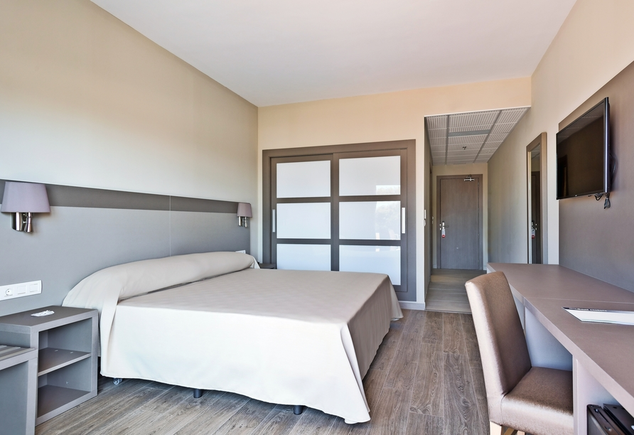 Beispiel eines Doppelzimmers im Hotel Best Costa Ballena