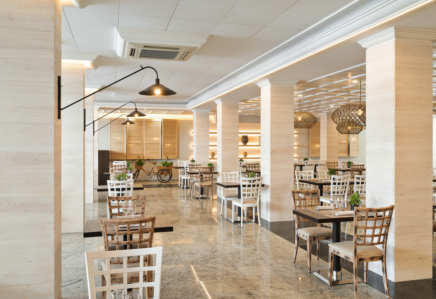 Restaurant im Hotel Indalo Park
