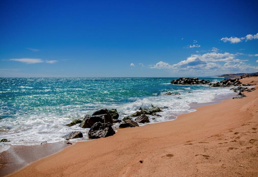 Strand von Santa Susanna