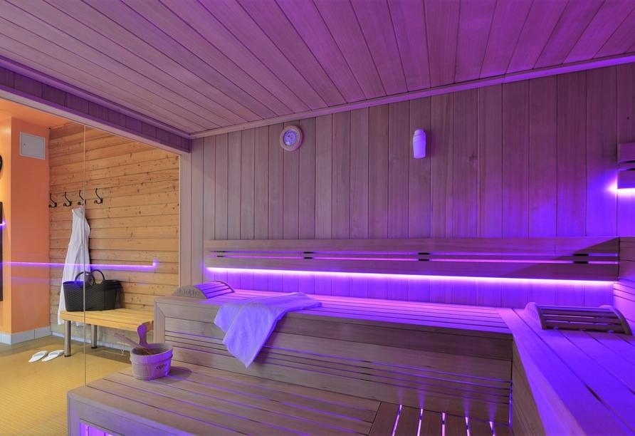 The Monarch Hotel, Sauna