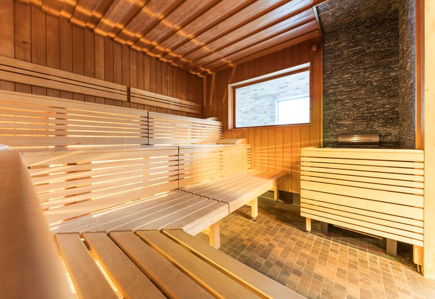 Panorama Hotel Turracher Höhe in Ebene Reichenau, Österreich, Sauna