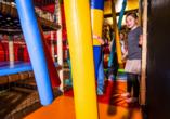 Im GEW-Indoor-Spielparadies kann nach Herzenslust getobt und gelacht werden.