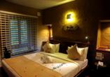 Beispiel Doppelzimmer im Beispielhotel Grand Udawalawe Safari Resort.